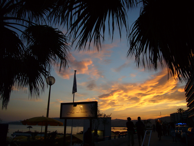Abend am Mittelmeer