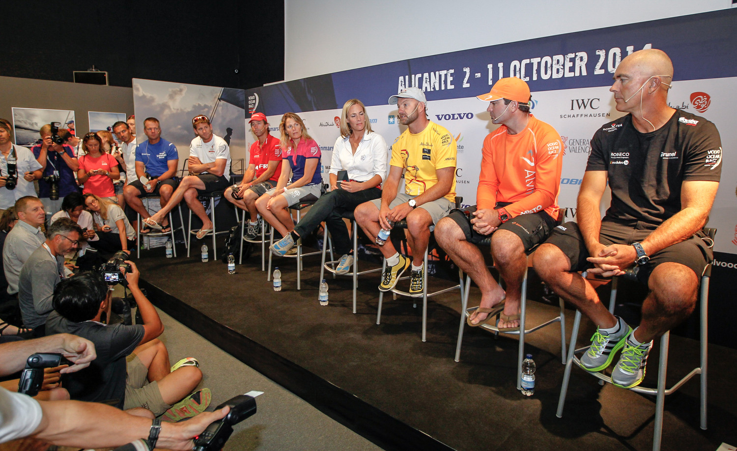 Skippers Press Conference - Volvo Ocean Race 2014-2015