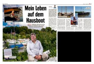 """Hafenjahre in der """"Mopo"""" - Literaturboot - Blog"""