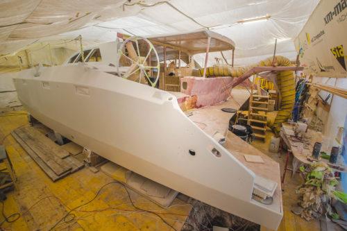 Ocean Youth Sailing. Der Katamaran segelt. - Literaturboot - Blog