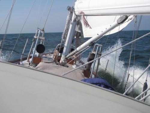 Tom Cunliffe über Rollgroßsegel - im Baum - Literaturboot - Blog