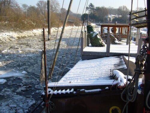 Wintersegeln im Norden - Literaturboot - Blog