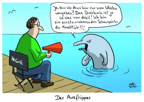 Butter bei die Fische. Cartoons aus dem Wasser - Literaturboot - Buchkritiken, Empfehlung